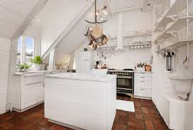 Shabby Chic Kitchen Design Attic Kitchen In Apartmen With Shabby Chic Design Ideasattic
