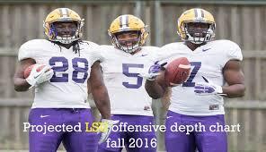 Wisconsin Football Depth Chart 2016 Projected 2016 Lsu Depth Chart Offense Sports Nola Com