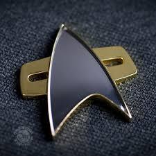 Star Trek Bathroom Accessories Apparel Accessories Communicator Badge Star Trek Store