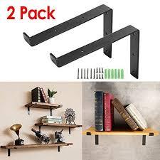 kingso metal wall shelf brackets