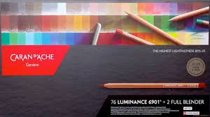 Astm Color Chart Caran D Ache Luminance Full Set 76 Unboxing Color Chart