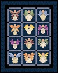 Angels Quilt Pattern FCP-005 (lap, throw, applique) & Angels Quilt Pattern FCP-005 Adamdwight.com