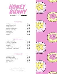 Customize 26 Bakery Menu Templates Online Canva