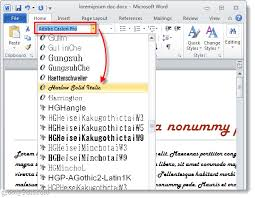 How To Change The Font Of An Entire Document In Microsoft Word