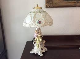 Lithophanie Tischlampefrau