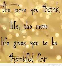 Quotes About Being Thankful Custom Thankful Quotes With Images