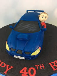 Scirocco Car 40th Birthday Cake Mels Amazing Cakes