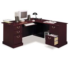 home office computer desk furniture. Fabulous Corner Computer Desks For Home Office Furniture : Impressive Wooden Desk With Keyboard Storage And Attractive File Cabinet O