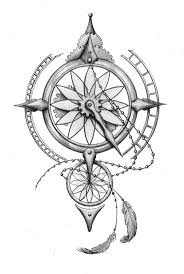Small Picture 190 best Tattoos Compass Rose images on Pinterest Compass rose