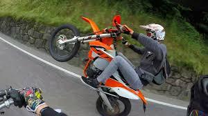 supermoto lifestyle 2 fun wheelie and fails ktm 125 vs