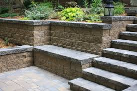 Retaining Wall Seating Retaining Walls Terraces Planters Villa Landscapes