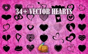 hearts silhouette heart silhouette clip art free vector download 215 689 free vector