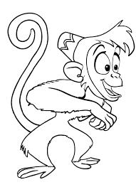 Scimmia Di Aladin Disegno Da Colorare Gratis Disegni Da Colorare E