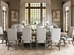 dining room upholstered dining chairs with round dining table for