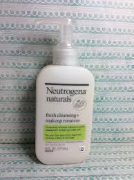 neutrogena naturals fresh cleansing daily face wash makeup remover 70501023518 ebay