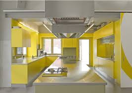 Yellow And Gray Kitchen Decor Decorating A Kitchen With Yellow Countertops Stylish Decorating