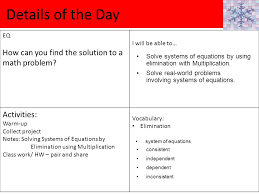 details of the day eq how can you find the solution to a math problem