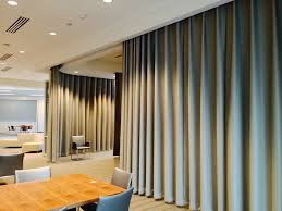 3 our hanging room dividers act as curtain walls