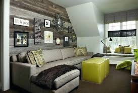 wood panel accent wall paneling paneled faux rustic
