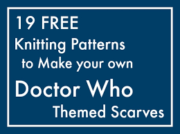 Dr Who Scarf Pattern Fascinating 48 Patterns To Knit Your Own Doctor Who Scarf Maple Leaf Mommy