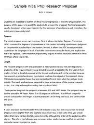 A Sample Of A Proposal Free 15 Research Proposal Examples Samples In Pdf Doc