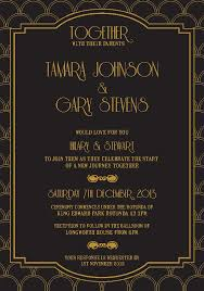 great gatsby invitation great gatsby save the date