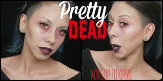 a pretty dead makeup tutorial easy makeup krystal bagorio you