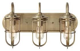 feiss vs36003 dab urban renewal nautical bath lighting dark antique brass finish