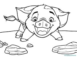 Addition Moana Coloring Pages Free Printable Coloring Pages