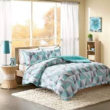 Bed sheets for teenage girls Comforter Sets Intelligent Design Ellie Comforter Set Fullqueen Size Aqua Grey Geometric Triangle Amazoncom Teenage Girl Comforter Sets Amazoncom