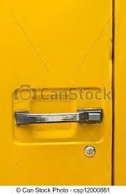 yellow car door handle csp12000881