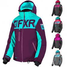 Fxr Racing F19 Helium Fx Womens Snowmobile Jackets