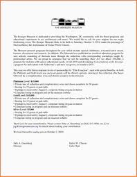 Proposal Letter For Sponsorship Sample For Event Terms Of Business