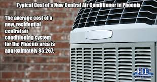 average cost of air conditioning unit. Simple Conditioning ACE Home Services Phoenix  How Much Does A New Central AC Cost On Average Of Air Conditioning Unit U