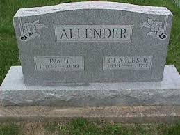ALLENDER, IVA - Henry County, Iowa | IVA ALLENDER - Iowa Gravestone Photos