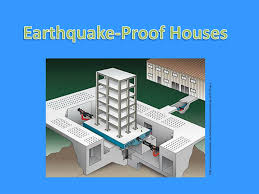 In areas with increased seismic activity, earthquake resistance is a major engineering consideration. Ppt Earthquake Proof Houses Powerpoint Presentation Free Download Id 2981251