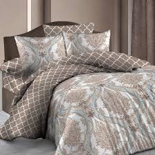 <b>Комплект постельного белья</b> «Венеция», евро, бязь, коричневый ...