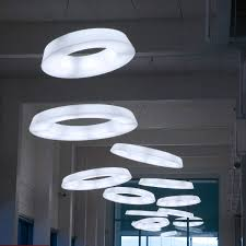 interesting lighting fixtures. Ring Decoration Simple Elegance Minimalist Uniques Round Light Fixtures Archi Expo Circural Fluorescent Interesting Functionally Lighting O