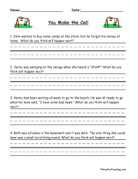 Predictions Worksheets | Have Fun Teaching