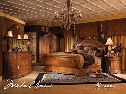 Michael Amini Cortina Luxury Bedroom Furniture Set Honey Farmhouse With  Regard To Sets Farmhouse Bedroom Furniture Sets E89