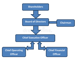 Power Corp Org Chart Corporate Structure Business Org Chart Stock Illustration