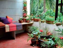 Small Picture Charming Indian Balcony Garden Decoration Ideas Home Decoration