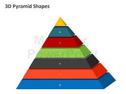 Pyramid Powerpoint 3d Pyramid Editable Powerpoint Template