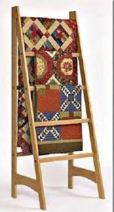 Amazon.com: Solid Oak Standing Ladder Quilt Rack: Handmade & Solid Oak Standing Ladder Quilt Rack Adamdwight.com