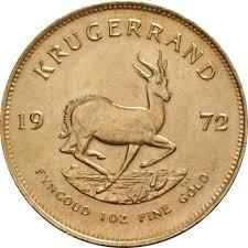 1972 1oz Gold Krugerrand