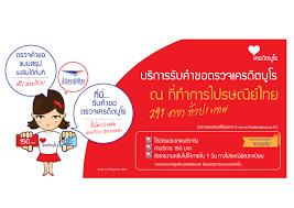 บริการรับคำขอตรวจเครดิตบูโร ณ ที่ทำการไปรษณีย์ไทย 291 สาขา ทั่วประเทศ    บริษัทข้อมูลเครดิตแห่งชาติ - National Credit Bureau