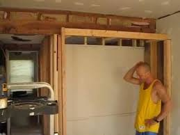 How to frame a closet Build Youtube Bathroom Closet Remodel Framing Youtube