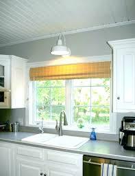 over the sink lighting. Window Over Kitchen Sink The Lighting Pendant Lights Outstanding Light Fixtures