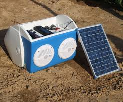 Solar Power Cooler Solar Charged Stereo Cooler 6 Steps With Pictures