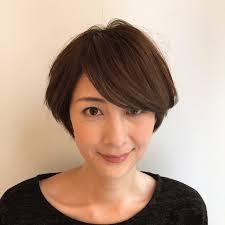 30代 40代 お悩み解決ショートボブ Abbey Regarding 髪型 ショート 三